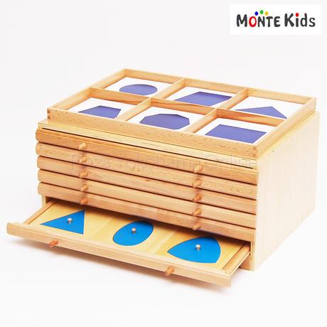 【MONTE Kids】MK-051  幾何学たんす