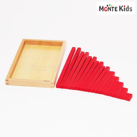 【MONTE Kids】MK-023  赤い棒  ミニサイズ