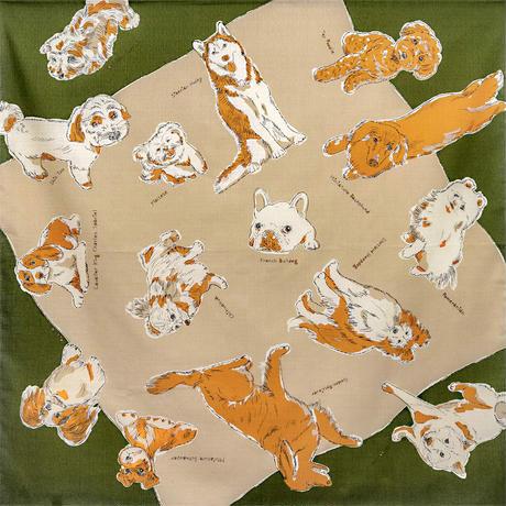 MISATO ASAYAMA 綿ふろしき【二四巾】DOGS(ドッグズ)
