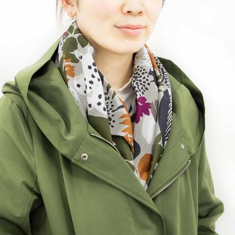 Sarahbel the timeless 抗菌ふろしき【三巾】Cactus(カクタス)<ベージュ/オレンジ>