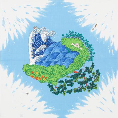 MISATO ASAYAMA ふろしき【中巾】富士山