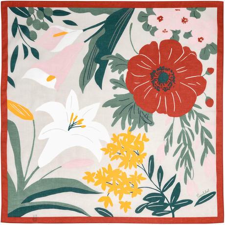 Sarahbel the timeless ふろしき【二巾】Blossom(ブロッサム)<レッド>