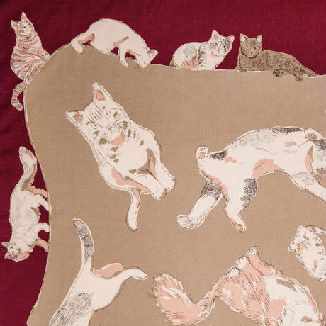 MISATO ASAYAMA 綿ふろしき【二四巾】CATS(キャッツ)