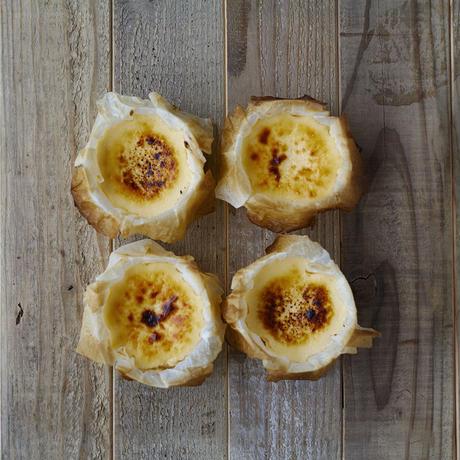 スペイン料理pablo ミニバスクチーズケーキ 4個セット