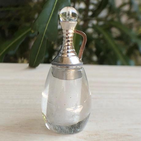 クリアクォーツ香水瓶 NO2