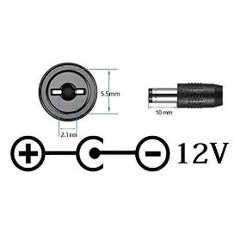 [PDC-12VM] エフェクター 電源 急速充電専用 USB Type-C PDトリガーケーブル センターマイナス ケーブル長 30cm (DC12V)