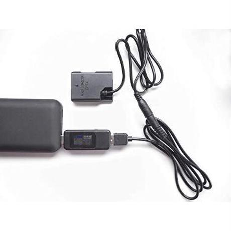 [QC-EP5B] DC カプラー + USB電源ケーブル Type-A QCトリガーケーブル バッテリー ニコン製対応