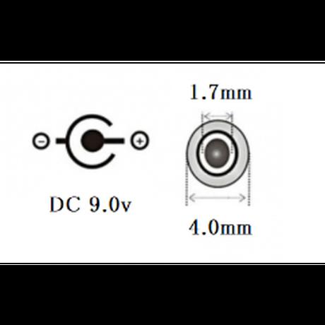 [QC9.0-4017S]USB TypeAから9.0Vを取り出す ファン付き作業服 電熱ベスト電源ケーブル(シンメン<ハイパワー>,中国産業<12V専用>などに対応)