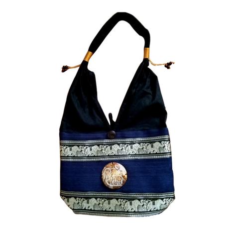トートバック タイ アジアン雑貨 エスニックファッションにぴったりなショルダーバッグ