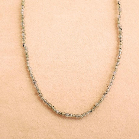 Simple Stone  { Necklace }  labradorite