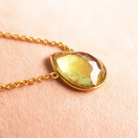 Lucky each other  { Necklace } Lemon Quartz