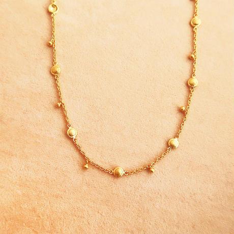 Shanti Plate  { Necklace } K18
