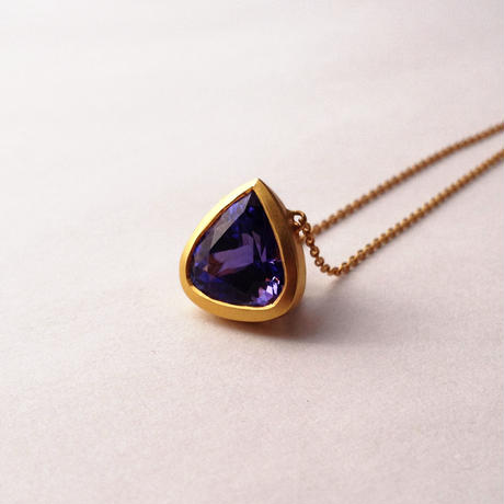 Tanzanite Cosmic necklace  { Necklace } K18