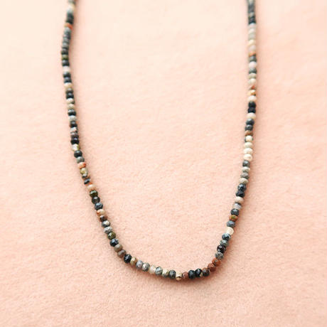 Simple Stone  { Necklace }   tourmaline