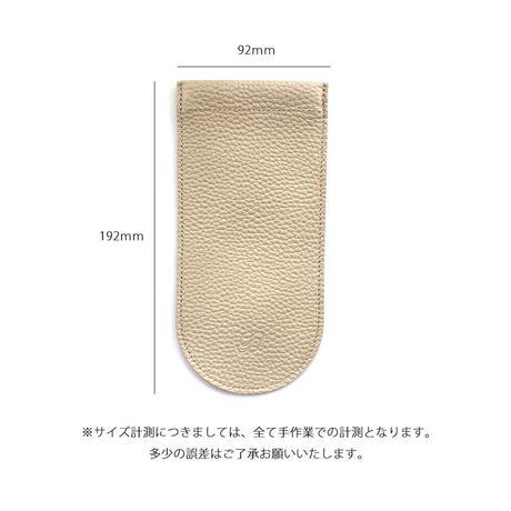 メガネ(眼鏡)ケース シュリンク型押しレザー【Gratia】G019