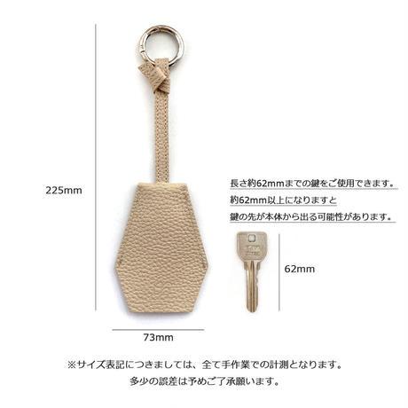 キークロシェット シュリンク型押しレザー【Gratia】G012