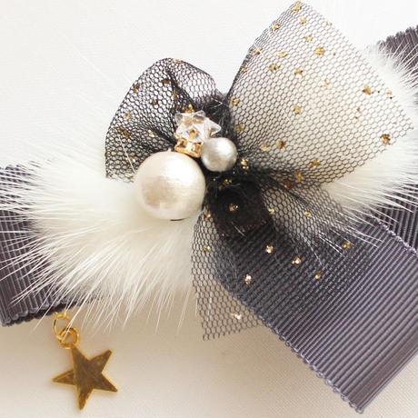 【親子ペアペア】Shining Star★グレーバレッタ