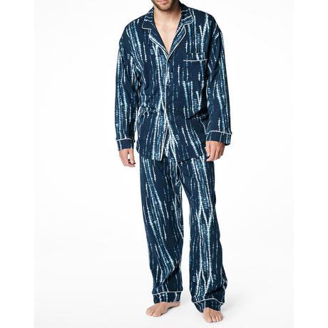 メンズパジャマ 長袖 ストレッチ BedHead Pajamas ベッドヘッドパジャマズ Midnight Indigo