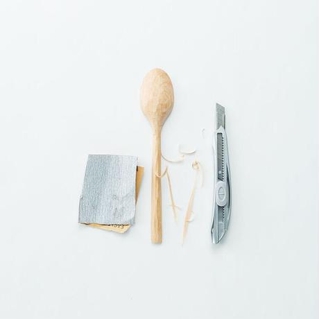 SPOON-L-Birch / 自分でつくる木のスプーン