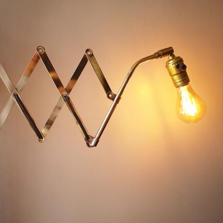 Brass Scissors Wall Lamp