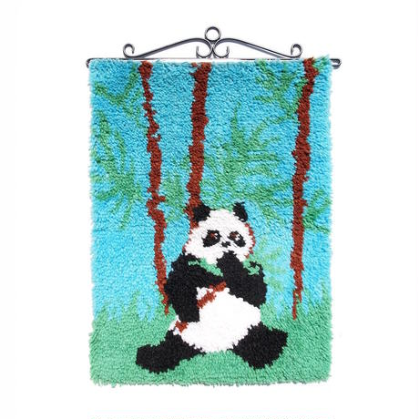 Latch Hook Tapestry - PANDA