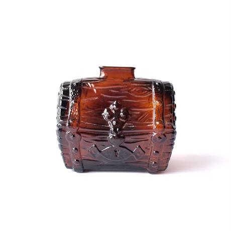 Glass Treasure Chest Coin Bank