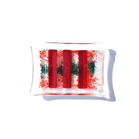 Art Glass Soap Dish - A