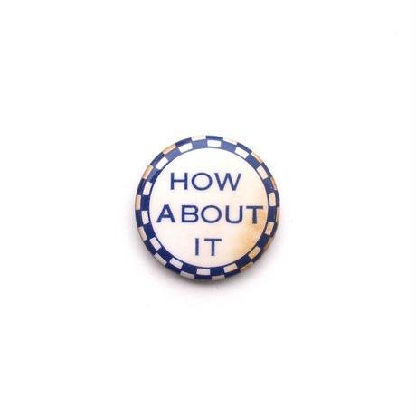 Pinback Button - E