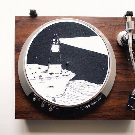 "Turntable Slipmats ""Lighthouse"""