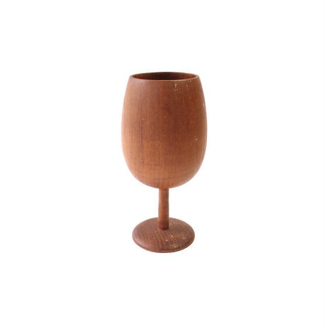 Wooden Wine Goblet - A