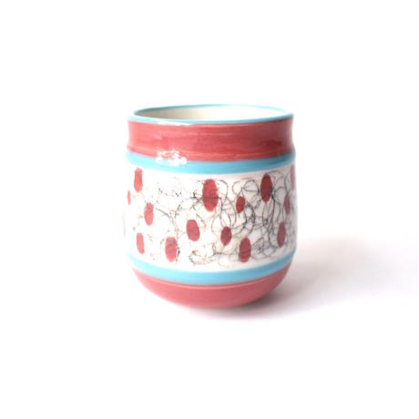Hand Painted Ceramic Cup - A