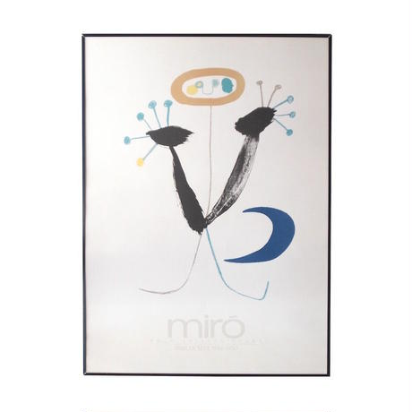 Joan Miro Poster / Pour Tristan Tzara Parler Seul 1948-1950