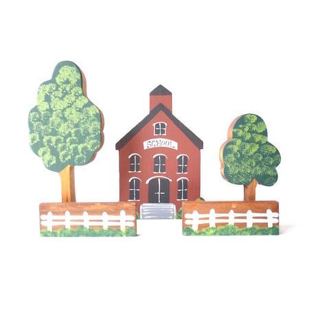 Wooden School Object