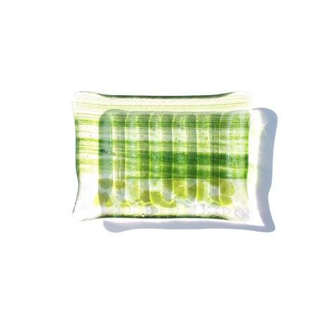 Art Glass Soap Dish - C