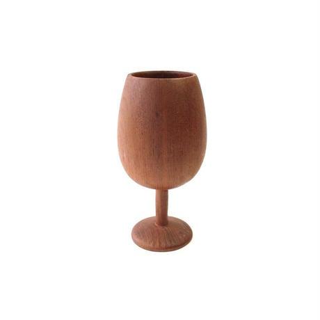 Wooden Wine Goblet - B