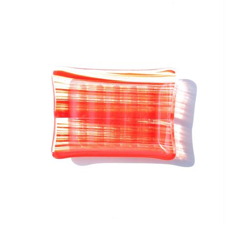 Art Glass Soap Dish - G