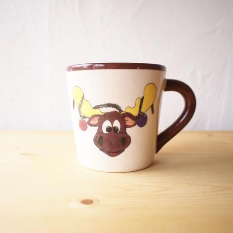 Ceramic Moose Mug - A