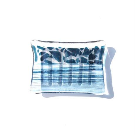 Art Glass Soap Dish - E