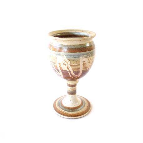 Pottery Goblet - A