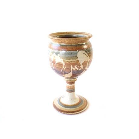 Pottery Goblet - B