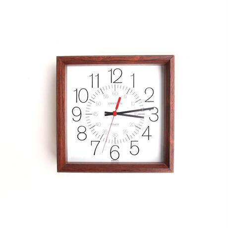 Verichron Wooden Frame Wall Clock