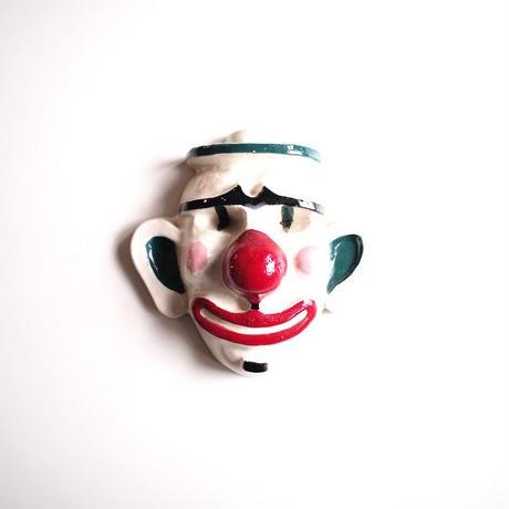 Ceramic Clown Wall Hang