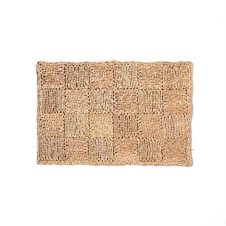Woven Raffia Doormat