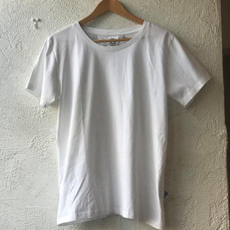 100%オーガニックコットン Tシャツ(ホワイト)