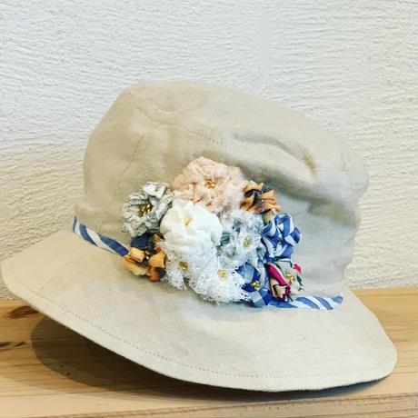 【Pamojah ARTISAN Seriese】  〜2020 the Third〜「up cycle x fair bucket hat 1/1」