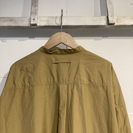 TISSU カッタウェイカフスワークシャツ ベージュ