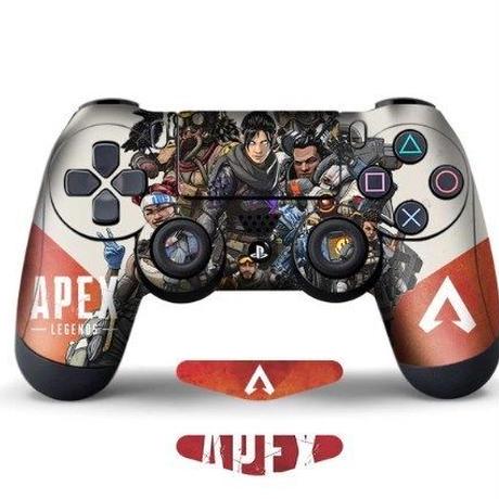 APEX LEGENDS PS4専用 コントローラー スキンシール ゲーミングアクセサリー 小物 クール 2Pics