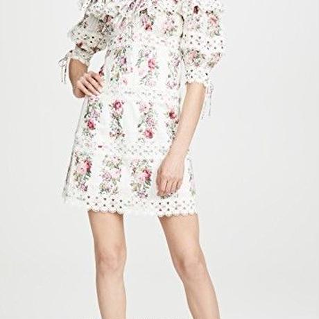 zimmermann ジマーマン Honour Pintuck Panel Mini Dress  ワンピース$850