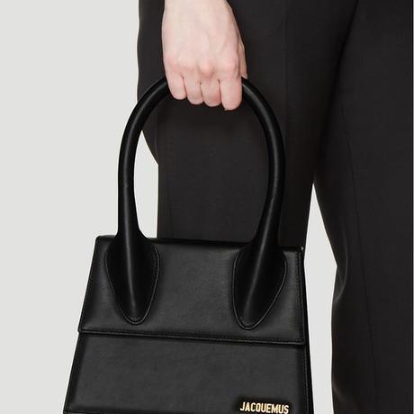 JACQUEMUS ジャックムス Le Grand Chiquito Bag in Black定価$690
