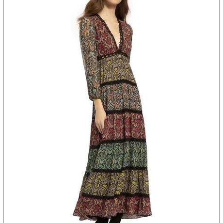 Alice+Olivia  Karolina Maxi Dress ワンピース 定価$480